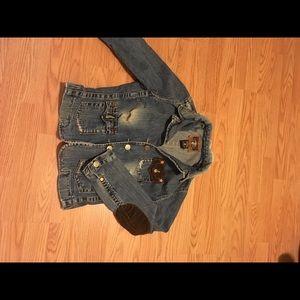 TR jean jacket destroyed !!
